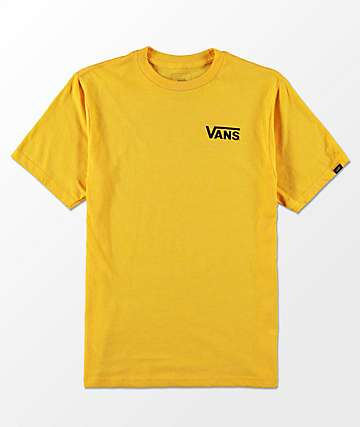 Vans Boys OTW Classic Heather Gold T-Shirt