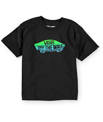 Vans Boys OTW Gradient Black T-Shirt