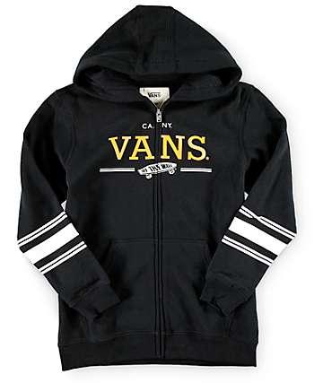 Vans Boys Relton Zip Up Hoodie