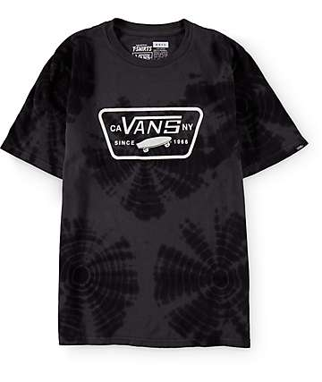 Vans Boys Spider Full Patch Tie Dye T-Shirt