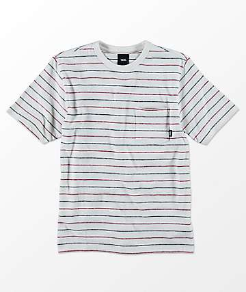 Vans Boys Strikemont III Marshmallow T-Shirt