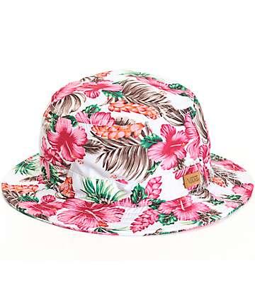 Vans Brohola Hawaiian Floral Bucket Hat