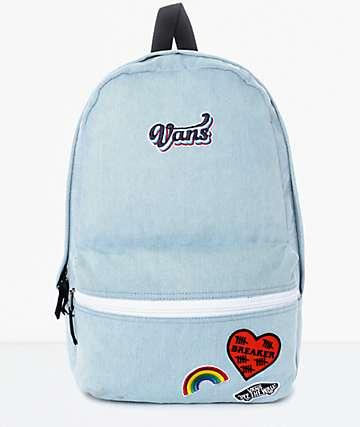 Vans Calico 70's mochila en azul para mujeres