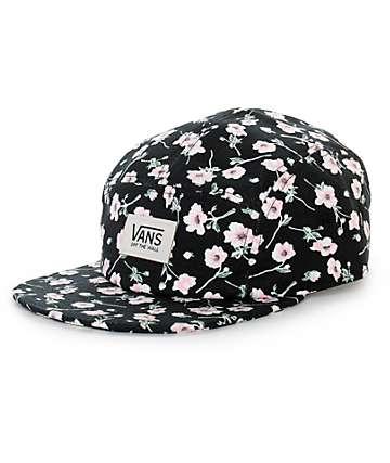 Vans Camper Floral 5 Panel Hat