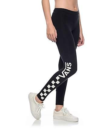 Vans Checkerboard leggings negros