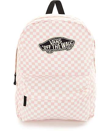 Vans Checkers Peach Skin Backpack