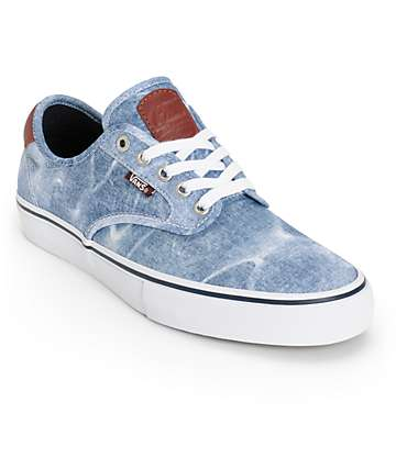 Vans Chima Pro Acid Wash Skate Shoes (Mens)