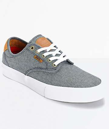 Vans Chima Pro Cord Chambray Skate Shoes (Mens)