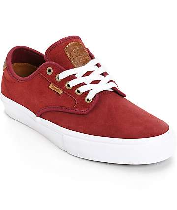 Vans Chima Pro Saddle Port Skate Shoes (Mens)