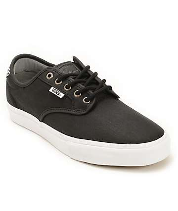 Vans Chima Pro Waxed Twill Skate Shoes (Mens)
