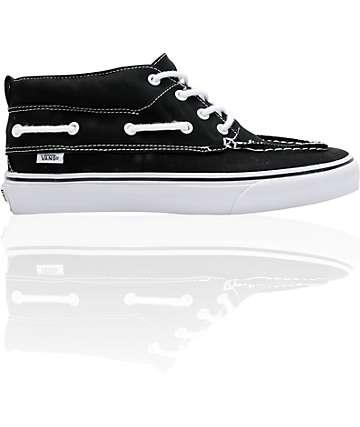 Vans Chukka Del Barco Black Canvas Skate Shoes (Mens)