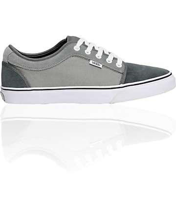Vans Chukka Low Charcoal & Dove Skate Shoes (Mens)