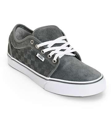 Vans Chukka Low Checkers Skate Shoes (Mens)
