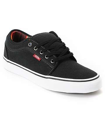 Vans Chukka Low Mexican Blanket Black Canvas Skate Shoes (Mens)