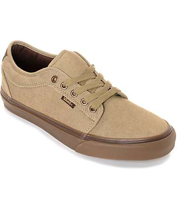 Vans Chukka Low Oxford Tan & Gum Skate Shoes