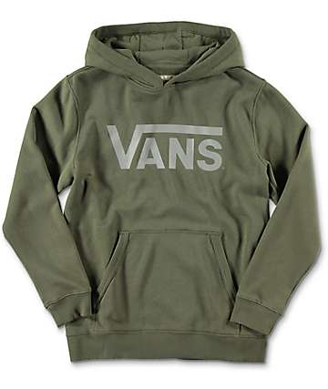 Vans Classic Grape Leaf Youth Hoodie
