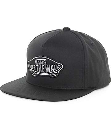 Vans Classic Patch Black & Black Snapback Hat