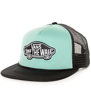 Vans Classic Patch Turquoise & Black Hat