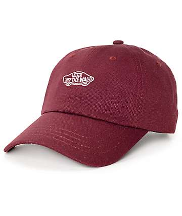 Vans Court Burgundy Baseball Hat
