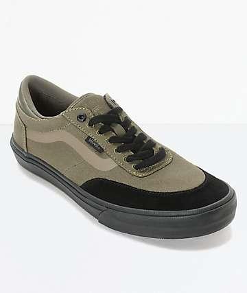 Vans Crockett 2 zapatos de skate en verde