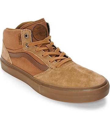 Vans Crockett Pro Mid Skate Shoes