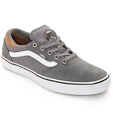 Vans Crockett Pro Tornado zapatos de skate en gris
