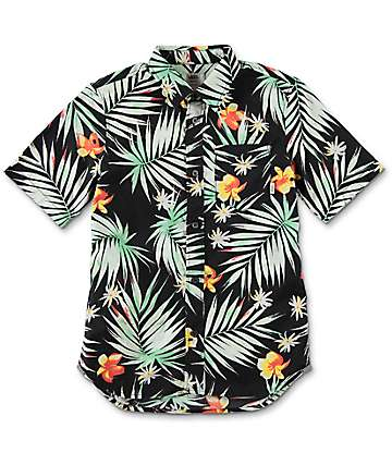 Vans Daintree Palm Boys Button Up Shirt