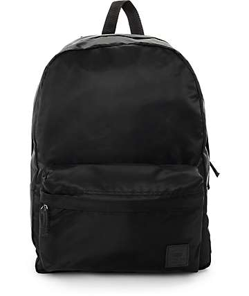 Vans Deana Black Satin Backpack