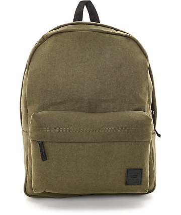 Vans Deana II Ivy Green Wool Backpack