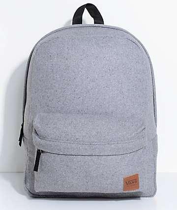 Vans Deanna 22L mochila de lana gris