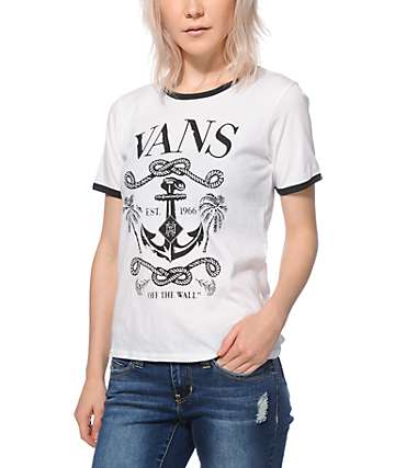 Vans Deep Sea Ringer T-Shirt