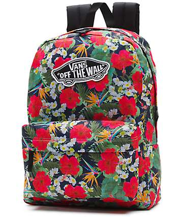 Vans Digi aloha Floral Print 22L Backpack