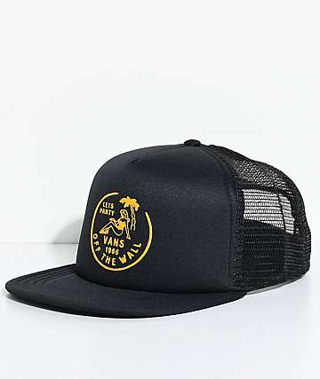 Vans Dumont Black Trucker Hat