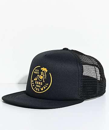 Vans Dumont gorra trucker en negro