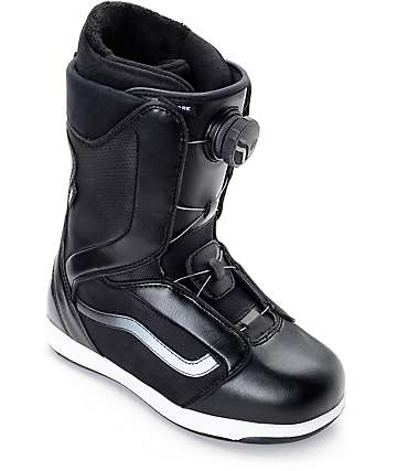 Vans Encore Boa Black & White Womens Snowboard Boots