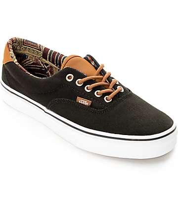 Vans Era 59 CL zapatos de skate negro con tejido geo (hombre)