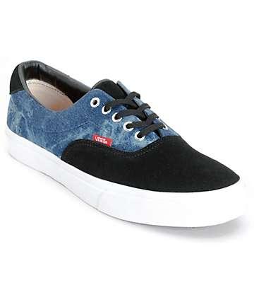 Vans Era 59 Denim Skate Shoes (Mens)