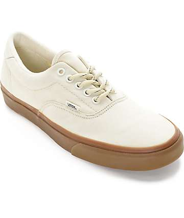 Vans Era 59 Hiking White and Gum Skate Shoes