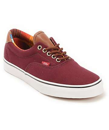 Vans Era 59 Port Royale & Multi Stripe Skate Shoes (Mens)