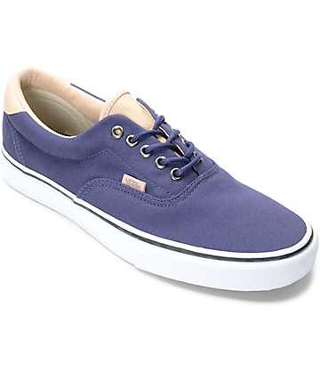 Vans Era 59 Veggie zapatos de skate en marrón y azul