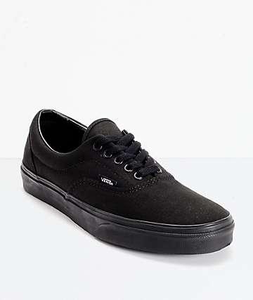 Vans Era Classic All Black Shoes