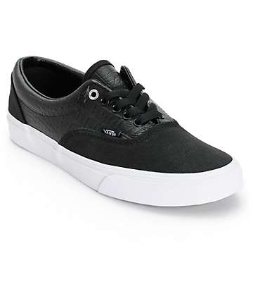 Vans Era Croc Leather Skate Shoes (Mens)
