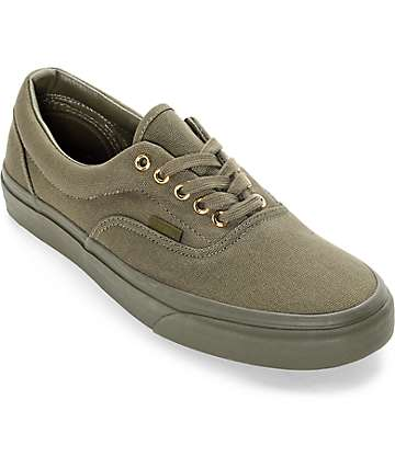 Vans Era Gold Mono zapatos de skate en color hiedra