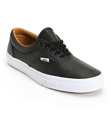 Vans Era Premium Leather Skate Shoes (Mens)