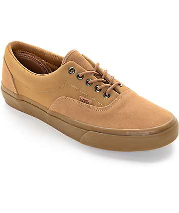 Vans Era Tobacco Suede Skate Shoes (Mens)