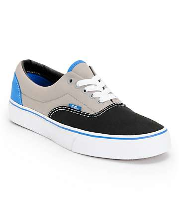 Vans Shoes For Girls Black And Blue