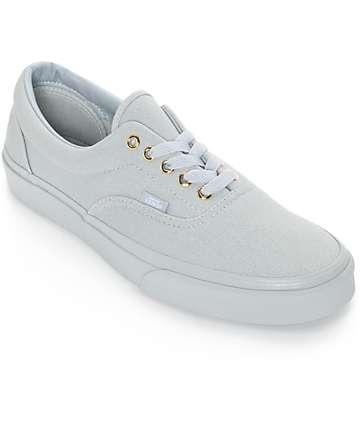 Vans Era zapatos grises de skate