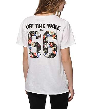 Vans Floral 66 Boyfriend T-Shirt