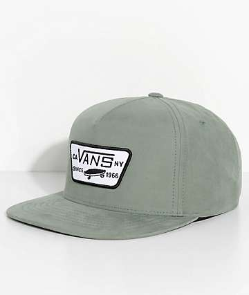 Vans Full Patch Laurel Green Strapback Hat