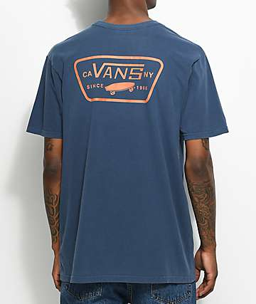 Vans Full Patch Navy T-Shirt